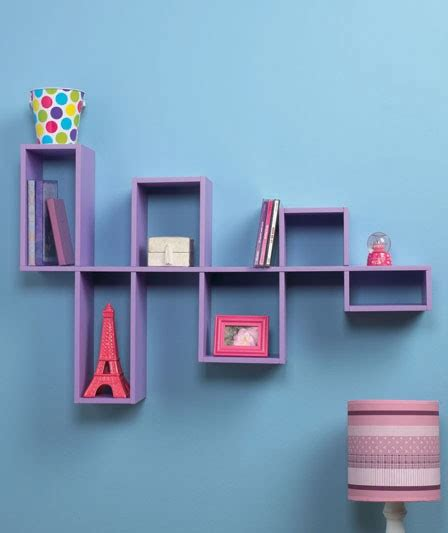modular wall shelves new modern modular wall shelves contemporary decor dvd storage organizer purple ebay