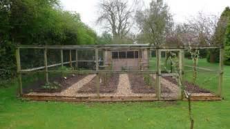 vegetable garden enclosures fruit rogerstone gardens cardiff garden design wales