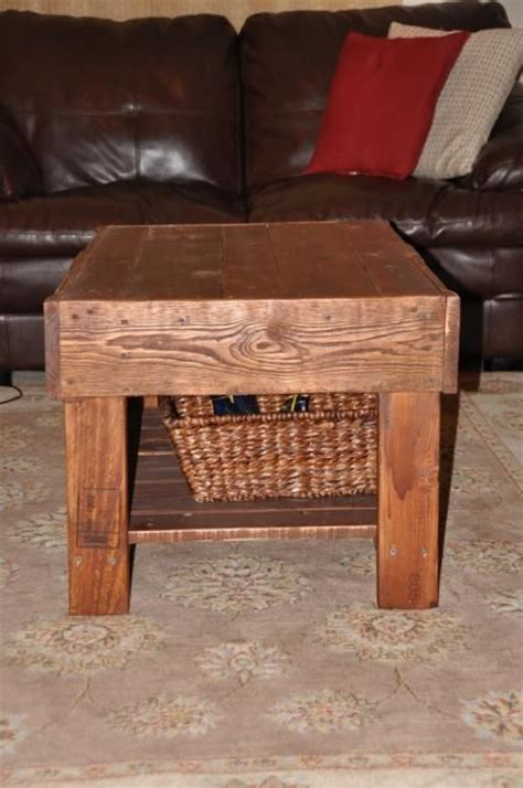 recycled pallet wood coffee table do it yourself home