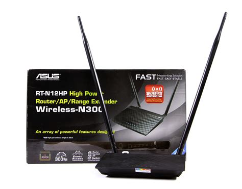 Asus Wireless N Router Rt N12hp B1 jual asus high power wireless rt n12hp router access