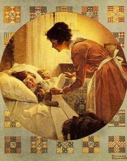 tuck into bed 88 best images about norman rockwell on pinterest norman