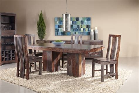 coast to coast sheesham dining table set 54711 54714