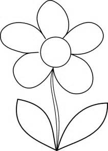 how to color flowers flower drawing cliparts co