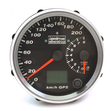 Tacho Motorrad by Legendary Motorcycles Gps Speedometer Electronic