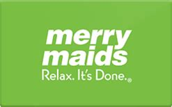 Merry Maids Gift Card - buy merry maids gift cards raise