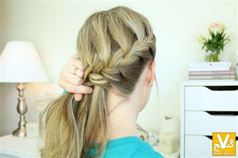 hair braid across back of head hair braid across back of head آموزش تصویری مدل بافت موی