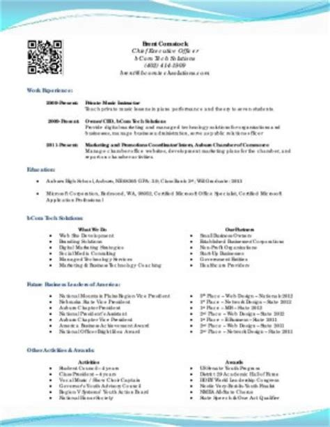 high school senior resume exles sle resume for high school senior for college