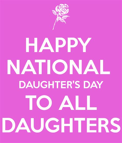 day images for daughters happy national s day to all daughters poster
