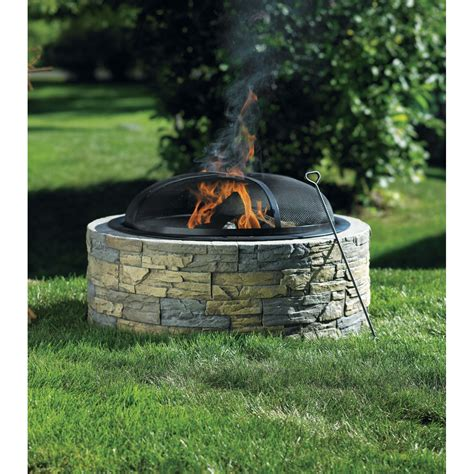 ace hardware fire pit round in wall gas fire home design and decor reviews