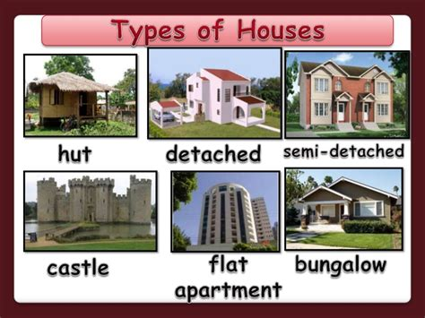 types of houses with pictures bungalow clipart different house pencil and in color