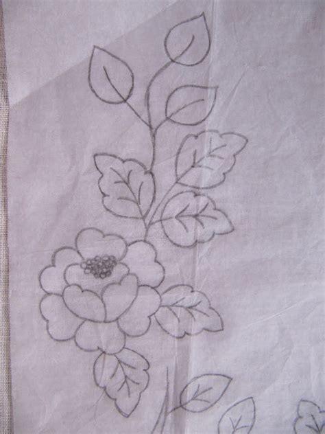 imagenes de flores bordadas a mano como bordar a mano flores imagui