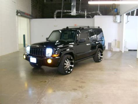 Jeep Commander On 22 Jeep Commander Mods Commander On 22 Quot Wheels Jeep