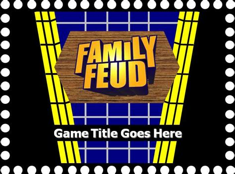 family feud powerpoint template with sound family feud powerpoint template with sound eskindria
