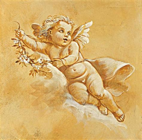 Angel Wall Murals happy cherubs iii prints by taddei allposters co uk