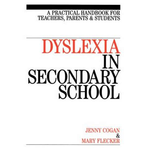 studying with dyslexia pocket study skills books dyslexia in secondary school cogan 9781861562722