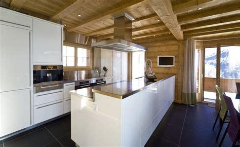 Swiss Alpine Chalet   Modern   Kitchen   Other   by Space Alchemy Interior Design
