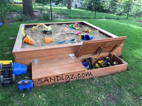 diy pit enclosure sandbox pictures of builds and happy kiddos sandigz