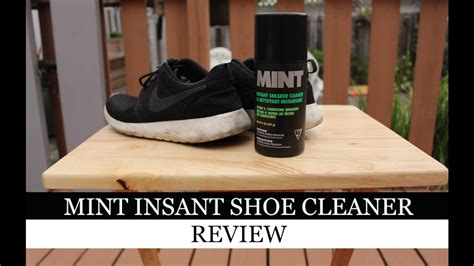 mint shoe cleaner does mint instant sneaker cleaner work mint instant