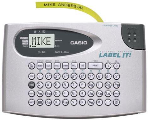 Deal Printer Label Casio Kl 120 Original casio calculator label printer kl 60 personal model johor end time 11 19 2013 9 32 00 am myt