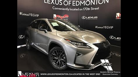 lexus atomic silver rx 350 2017 atomic silver lexus rx 350 awd f sport series 3 in