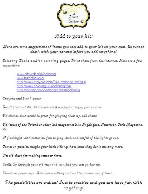 8 Great Babysitting Tips by Inspiration Babysitting Workshop