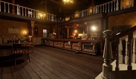 Home Interior Ideas 2015 by Red Dead Redemption Inspired Saloon Created In Unreal Engine 4