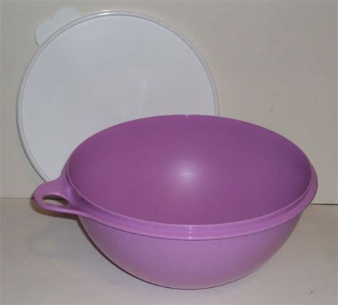 Bowl Lavender Tupperware tupperware bowls with lids shop collectibles daily
