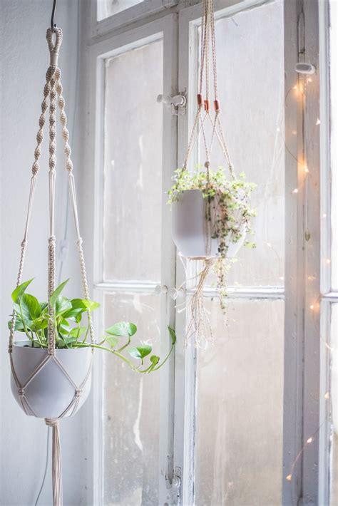 Macrame Plant Hanger Tutorial - macrame plant hanger tutorial heylilahey