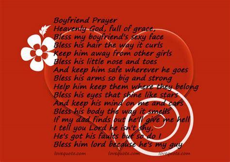 boyfriend poems boyfriend prayer quotes and sayings