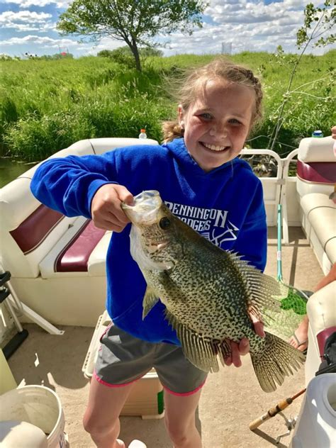 outdoor notes april  ripe  catching crappies