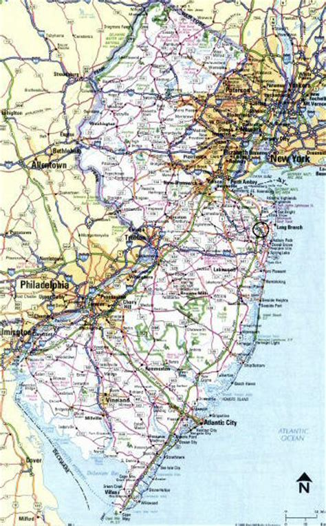 road map of new jersey map of new jersey jpg images frompo