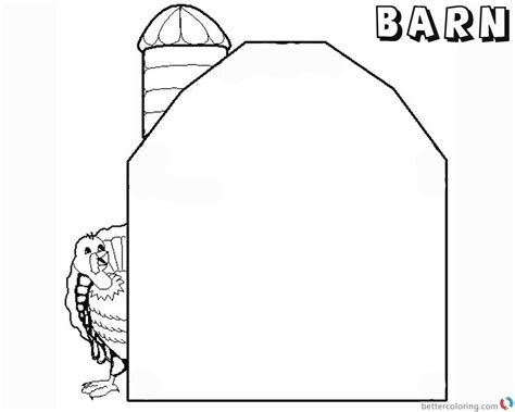 barn coloring pages ink of barns coloring pages sketch coloring page