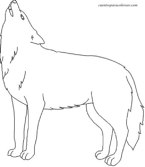 imagenes para colorear lobo image gallery lobos para colorear