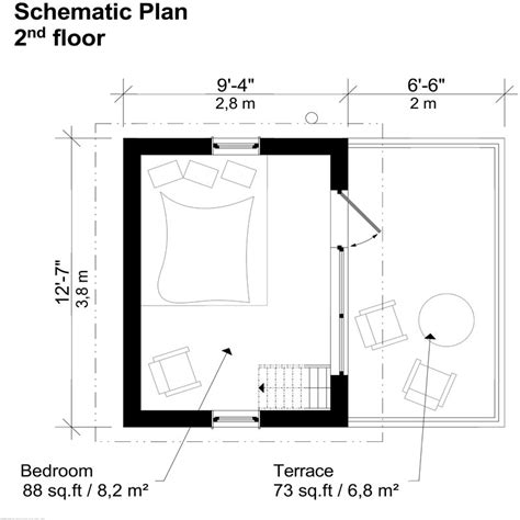 modern loft floor plans contemporary cabin plans