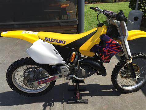 Suzuki Rx 125 1996 Suzuki Rm 125 School Moto Motocross Forums