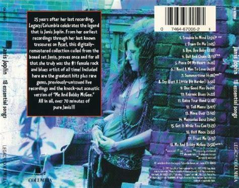 janis joplin  essential songs  cd rip