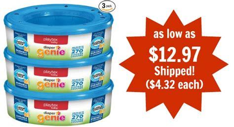 printable coupons for diaper genie refills playtex diaper genie refills 3 pack as low as 12 97