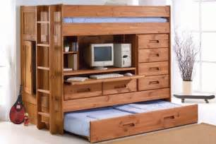 Plans For Building A Triple Bunk Bed by All In One Bedroom Furniture Home Design Garden Amp Architecture Blog Magazine