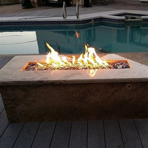 diy pit trough d i y 26 quot propane trough wall table burner
