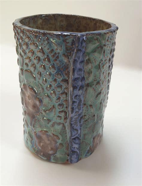 Handmade Ceramic Vases - unique handmade ceramic canisters vases lidded jars
