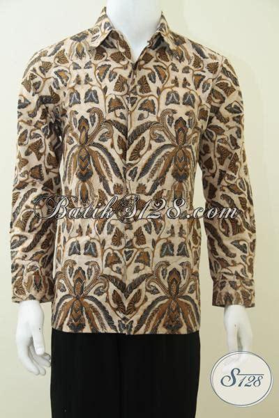 Baju Cowok Jawa baju batik pria eksklusif lengan panjang batik jawa indonesia lp2363bt m l toko