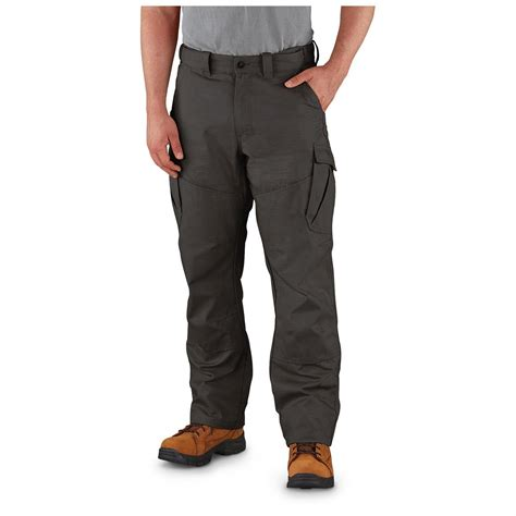 comfortable work pants mens guide gear men s ripstop cargo work pants 621473 jeans