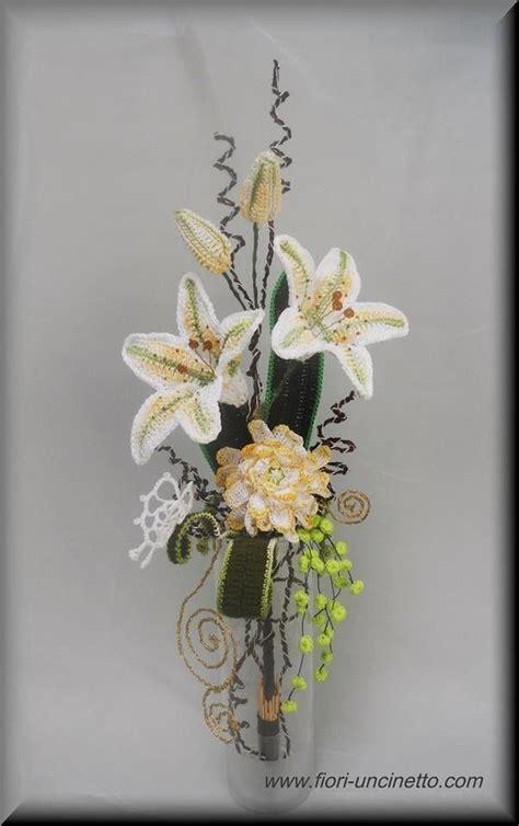 fiori con stelo all uncinetto uncinetto fiori come fare fiori con stelo a uncinetto