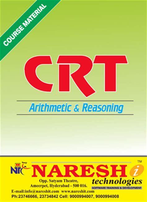 Crt training institutes in hyderabad marriage