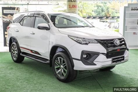 Fortuner Vrz Trd gallery toyota fortuner 2 4 vrz 4 215 2 with trd kit