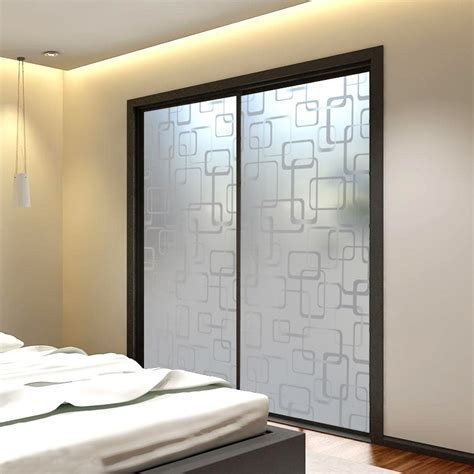frosted glass bedroom doors the details of frosted glass doors med art home design