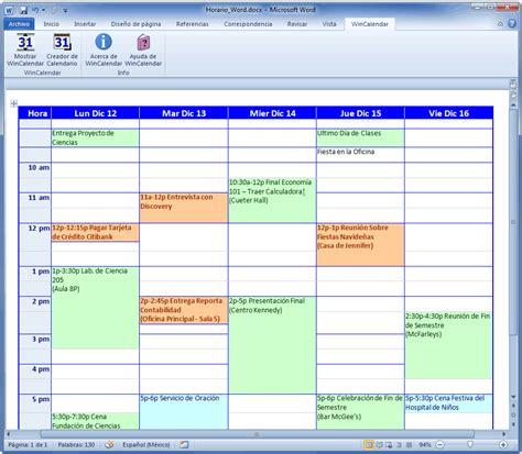 El Calendario A O Criador De Calend 225 Para Word E Excel
