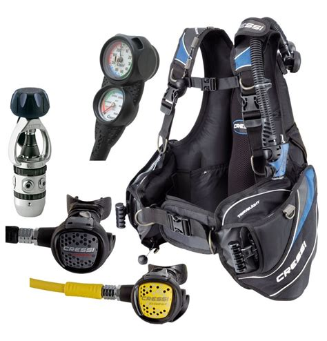 dive gear packages cressi travelight scuba gear travel package at primescuba