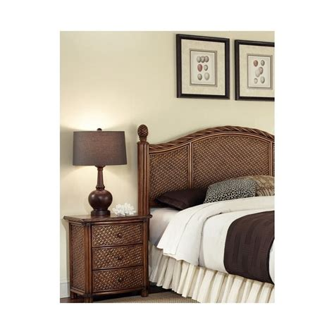 marco island bedroom set home styles marco island queen full headboard amp night