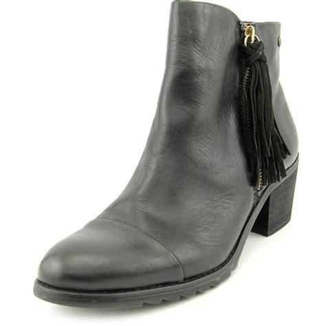 black fringe ankle boots pikolinos fringe leather black ankle boot boots